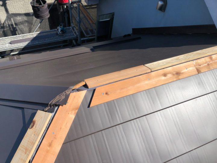屋根重ね葺き⑥