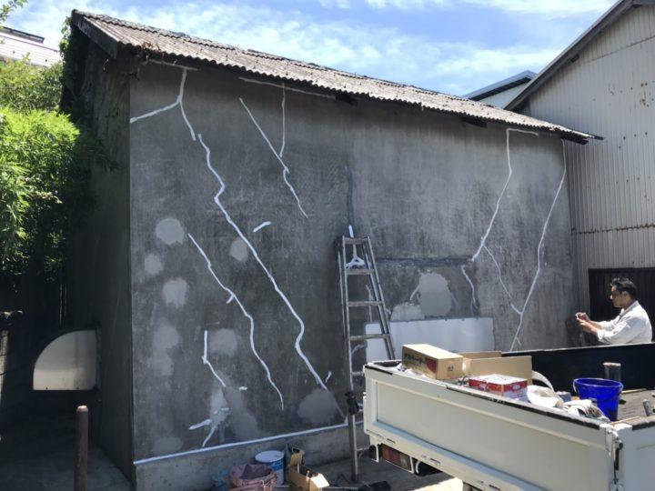 外壁修繕⑧