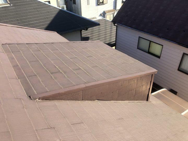 屋根小屋解体工事①