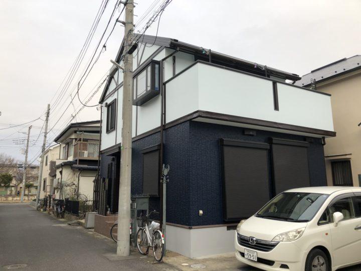 【 松戸市 】 A様邸 外壁塗装 施工事例