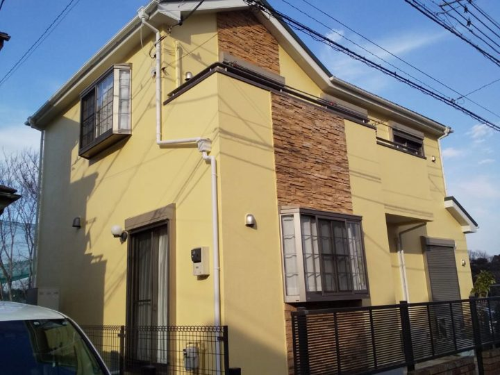 【 市川市 】 E様邸 外壁塗装・屋根葺き替え工事 施工事例