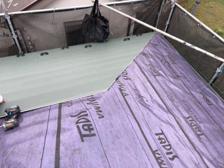 屋根葺き替え④