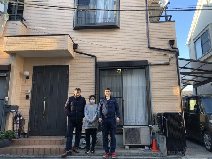 【ラクスト/お客様の声】外壁塗装・H様邸