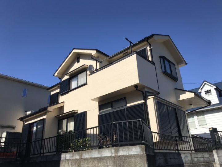 【 松戸市】外壁塗装・F様邸