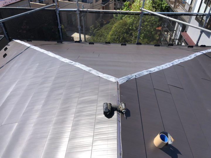 屋根葺き替え工事⑤