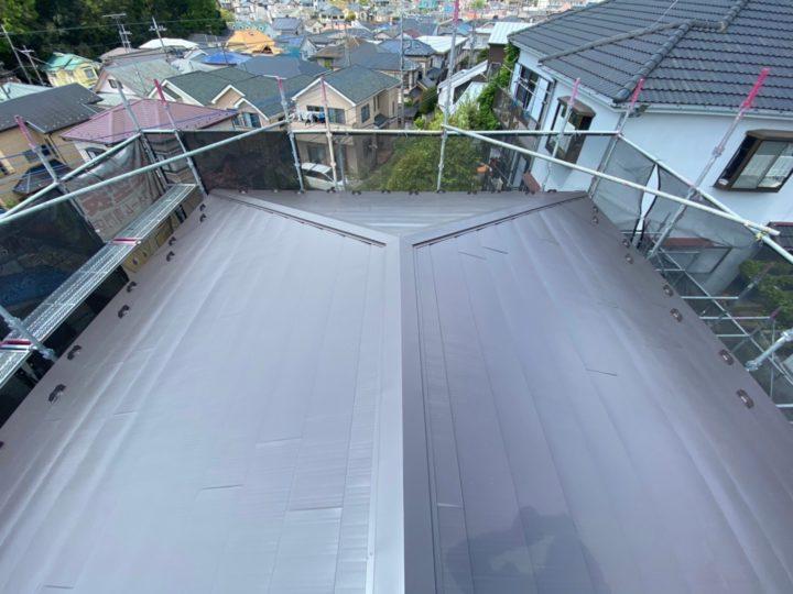 【松戸市】屋根葺き替え工事・U様邸