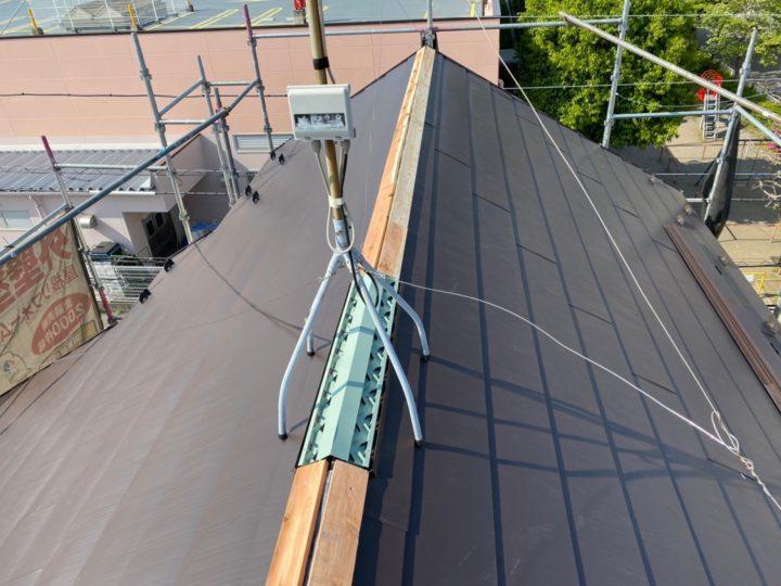 屋根葺き替え⑥