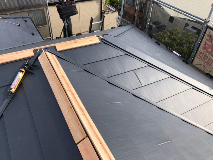 屋根葺き替え⑤
