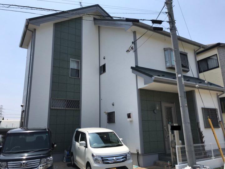 【鎌ケ谷市】外壁塗装・I様邸