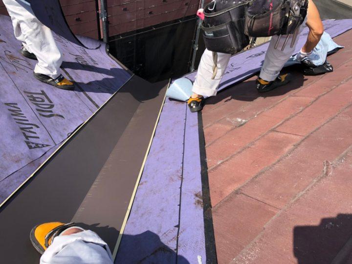 屋根葺き替え工事④