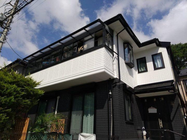 【鎌ケ谷市】外壁塗装・K様邸