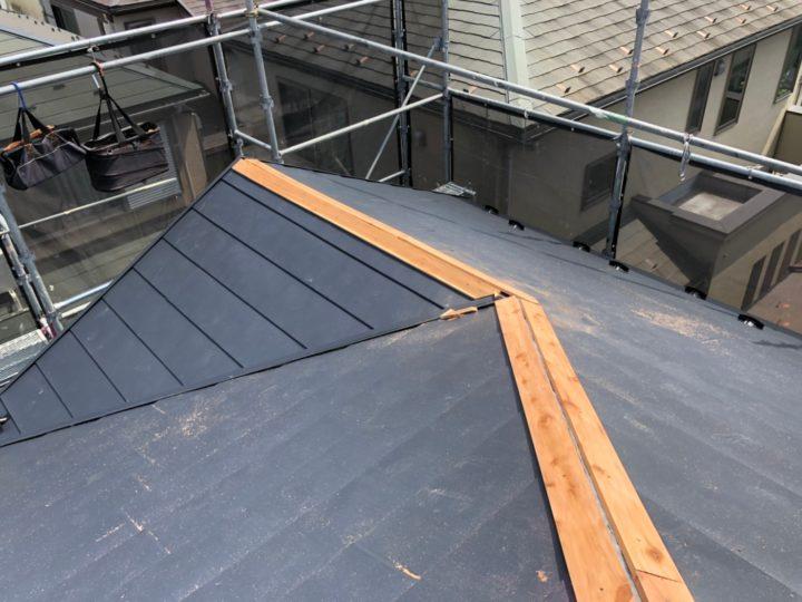 屋根葺き替え工事⑧