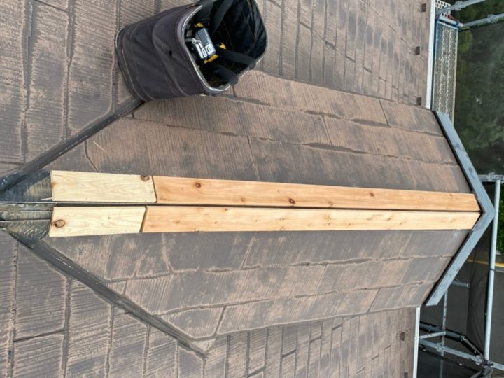 ドーマー貫板設置