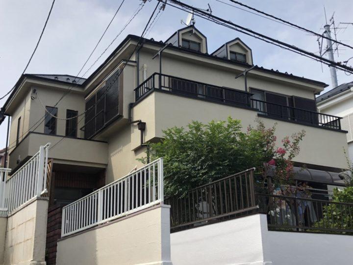 【柏市】外壁塗装・U様邸