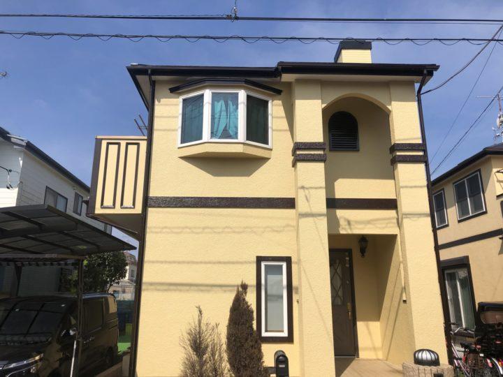 【松戸市】外壁塗装・U様邸