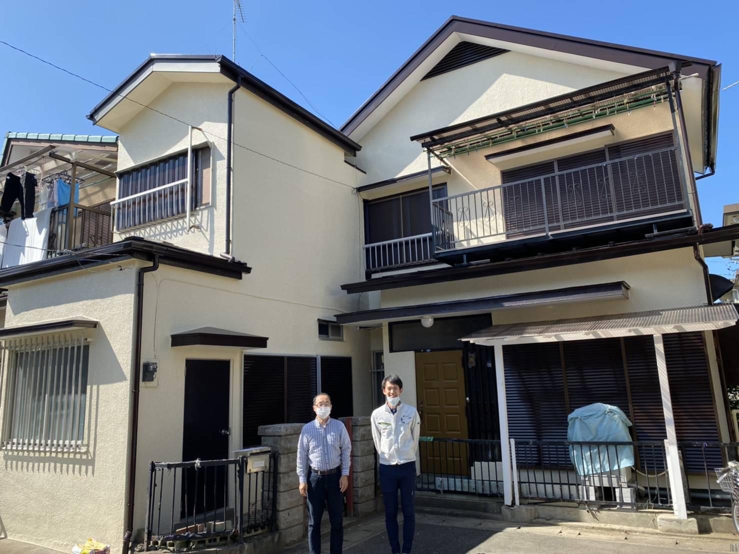 【松戸市】外壁塗装・K様邸