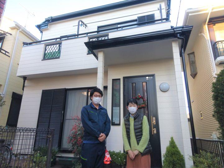 【松戸市】外壁塗装・H様邸
