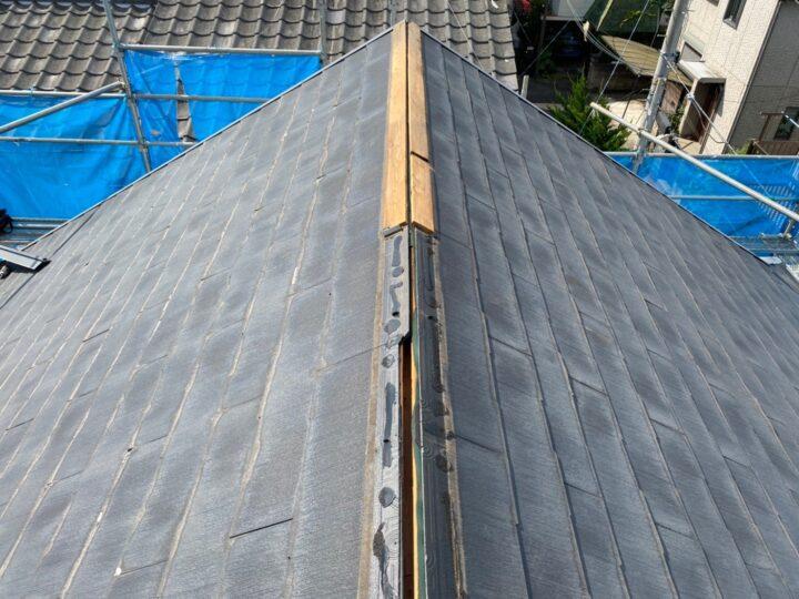 屋根葺き替え工事①