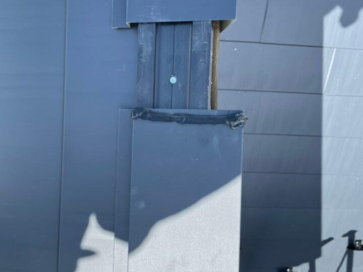 屋根重ね葺き工事⑧