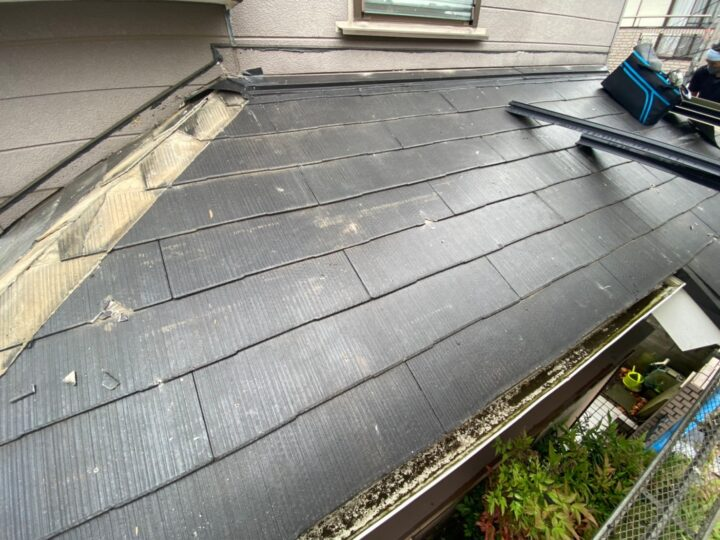 屋根葺き替え工事②