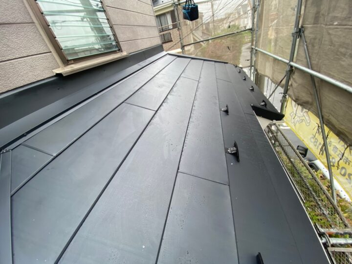 屋根葺き替え工事⑩
