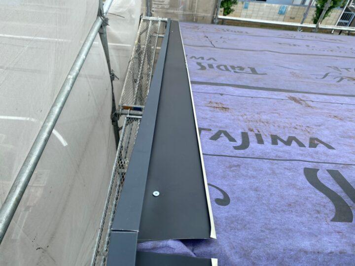 屋根重ね葺き工事⑤