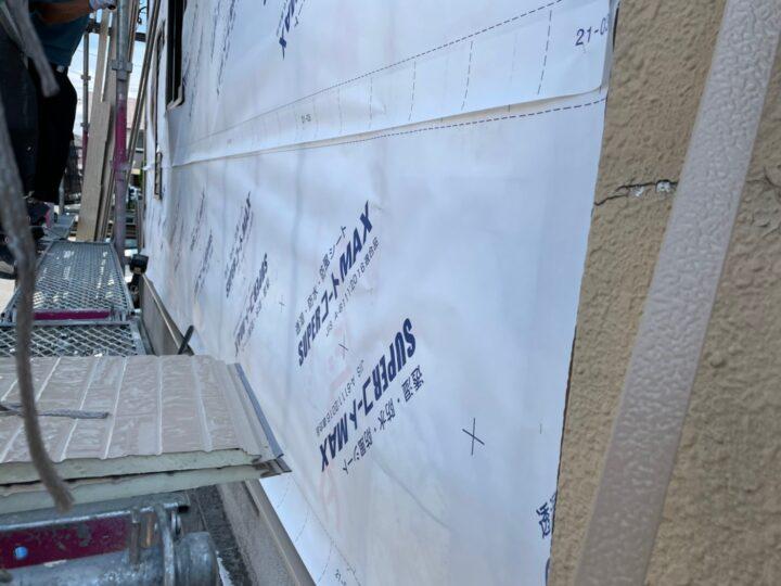 外壁張り替え工事③