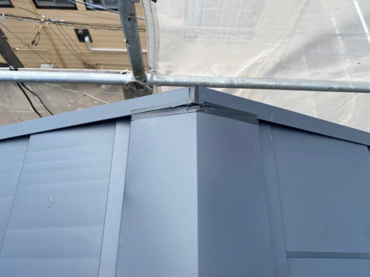 屋根重ね葺き工事⑨