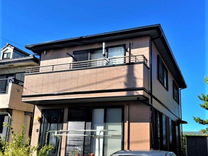 【鎌ヶ谷市】外壁塗装・U様邸