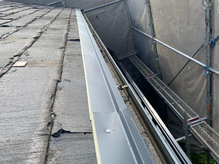 屋根重ね葺き工事③